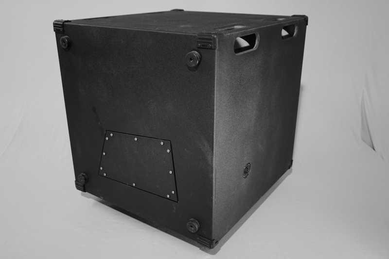 caisson de basse tuba 24 fabrication. Black Bedroom Furniture Sets. Home Design Ideas