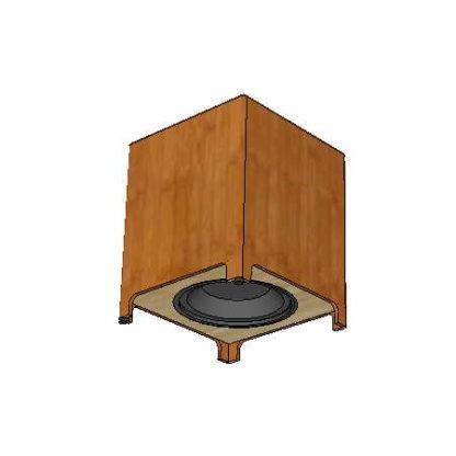 Billfitzmaurice - Simplexx 15 - caisson de basse - sketchup - 2